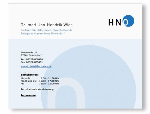 Design Liebt Natur Hno Arzt Dr Wies